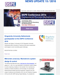 DSPE Online nieuwsbrief